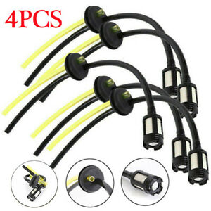 Petrol-Strimmer-Fuel-Hose-Pipe-With-Tank-Filter-assembly-amp-Grommet-4PCS