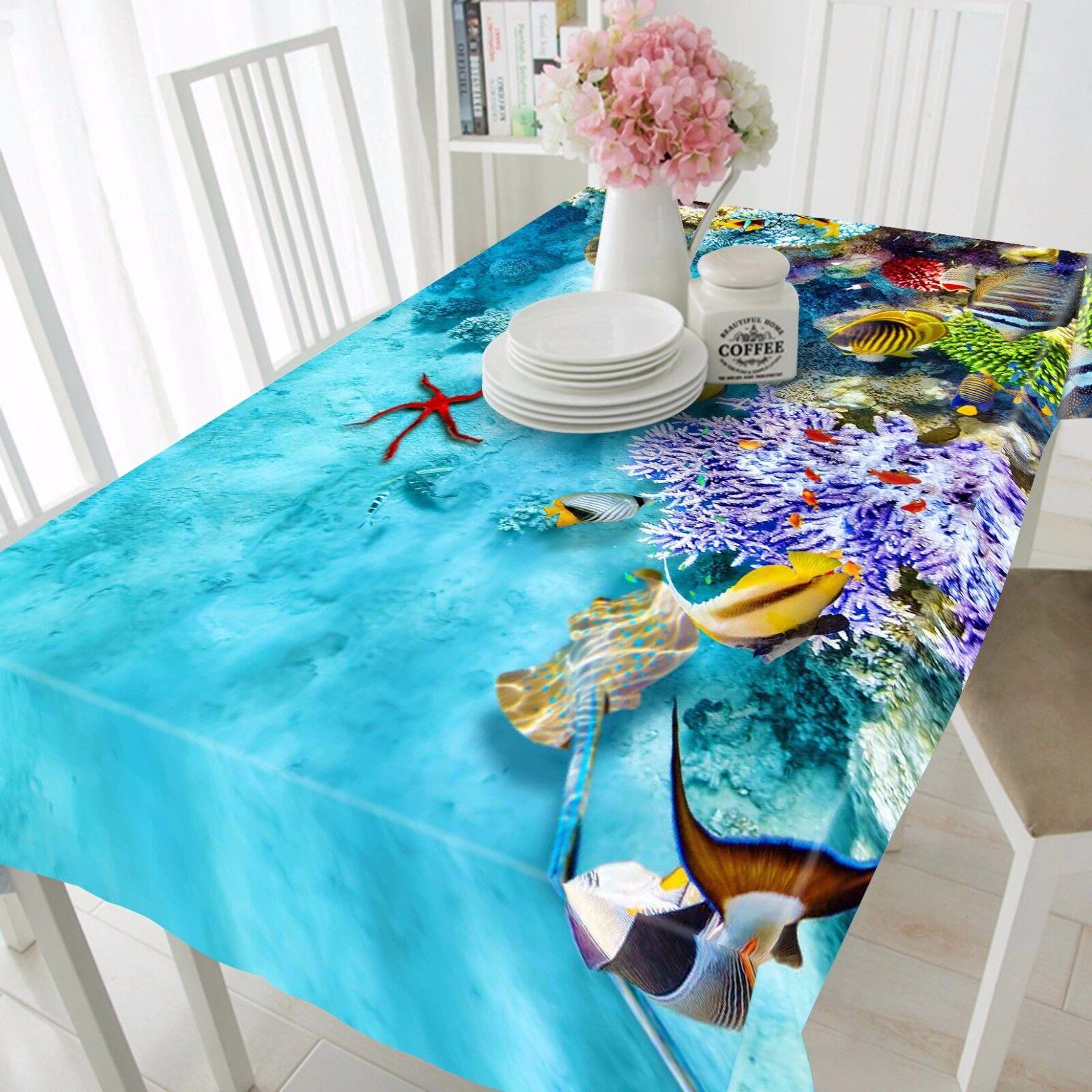 3D OCEAN Nappe Table Cover Cloth fête d'anniversaire AJ papier peint Royaume-Uni Citron