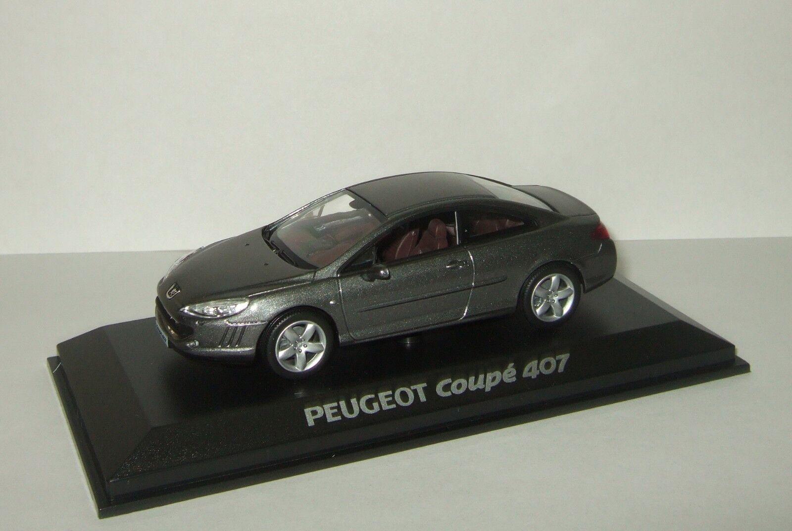 suministro de productos de calidad 1 43 Norev Peugeot Peugeot Peugeot 407 Coupe Moondust gris 2008 474774  saludable