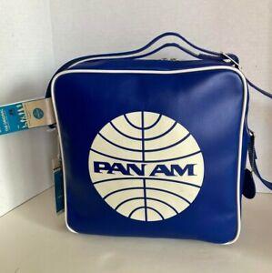 """PAN AM """"Defiance"""" Bag Originals Certified Vintage Style Pan Am Blue"""