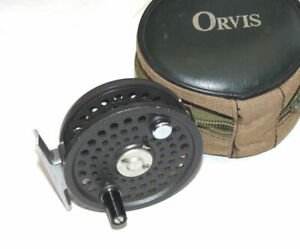 Orvis-Battenkill-Disc-5-6-alloy-trout-fly-reel-in-fine-condition-with-Orvis