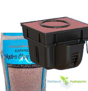 Hydroponic-Pot-Planter-water-system-for-Indoor-plant-Hydro-Grower-and-Clay-Balls