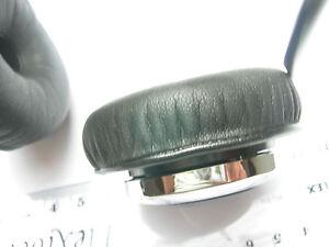 2 ohrpolster 57 mm kunstleder f r sennheiser pmx 60 kopfh rer pmx60 ebay. Black Bedroom Furniture Sets. Home Design Ideas