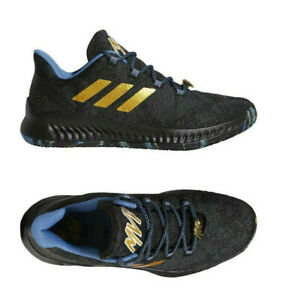 Adidas-Harden-B-E-X-039-MVP-039-F36813-Black-Gold-Royal-Basketball-Sneakers-NEW