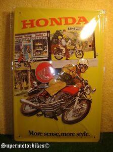 Intelligent 1:1 Tôle Bouclier Deco Honda Cb 400 Four/02582-afficher Le Titre D'origine
