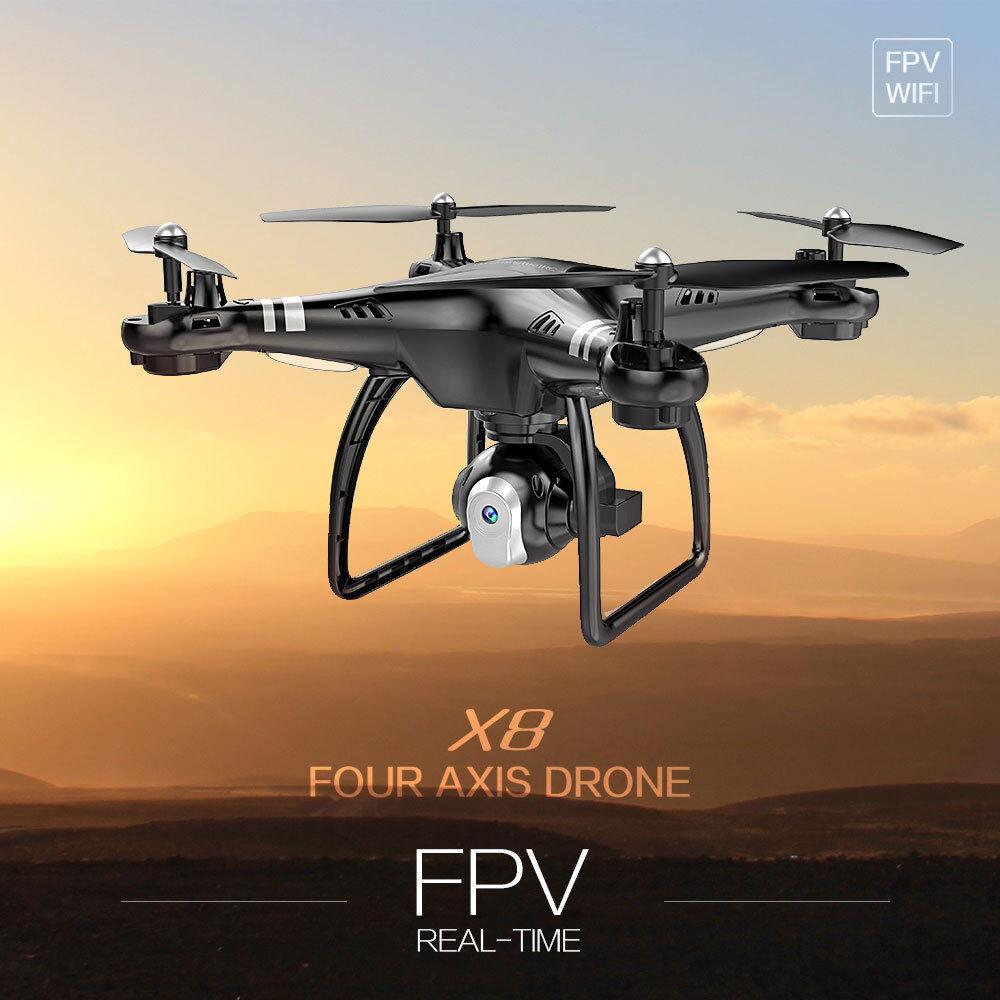 RC Drone 640P HD Camera RTF Headless APP Wifi FPV 2.4G Remote Control Quadcopter
