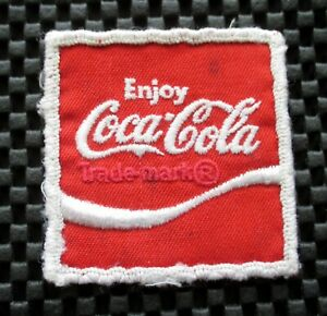 COCA-COLA-EMBROIDERED-PATCH-BEVERAGE-SOFT-DRINK-COLLECTIBLE-2-1-4-034-x-2-1-4-034
