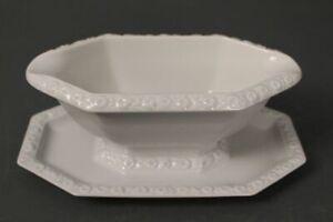 Rosenthal-Maria-White-Sauceboat-Soup-Tureen-Bowl-Pot-8-1-2in