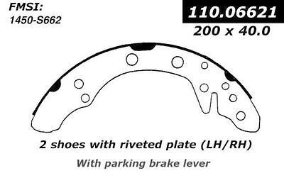 R1 Concepts Pro Fit Rear Semi-Metallic Brake Shoes 2901-0662-10