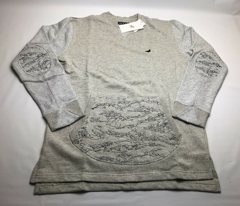 Staple Pigeon Camo Embroiderot Crewneck 1709C3945 Stone 2017 Brand New Withtags