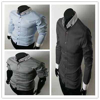 Hot Sell Black Friday Casual Slim Fit Luxury Stylish Long Sleeve Dress Shirts
