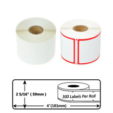 Address 300 Labels Per Roll 2 516 X 4 For Dymo Labelwriters 400 30256 30344