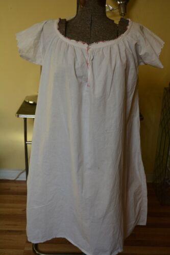 Antique VTG Victorian/Edwardian Night shirt/Night