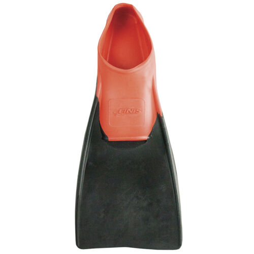 Finis Long Floating Fin 3-5   Red//Black