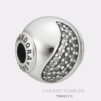Authentic Pandora Essence Collection Sterling Silver Happiness Bead 796021CZ