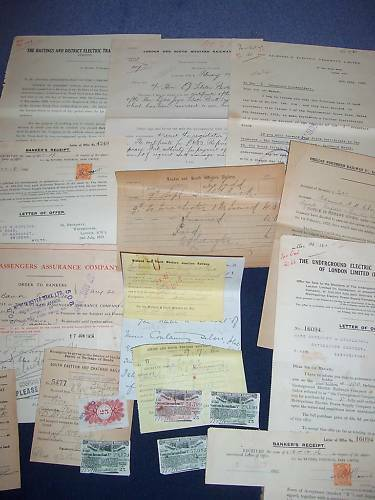 railway letters items 19 mixed rare