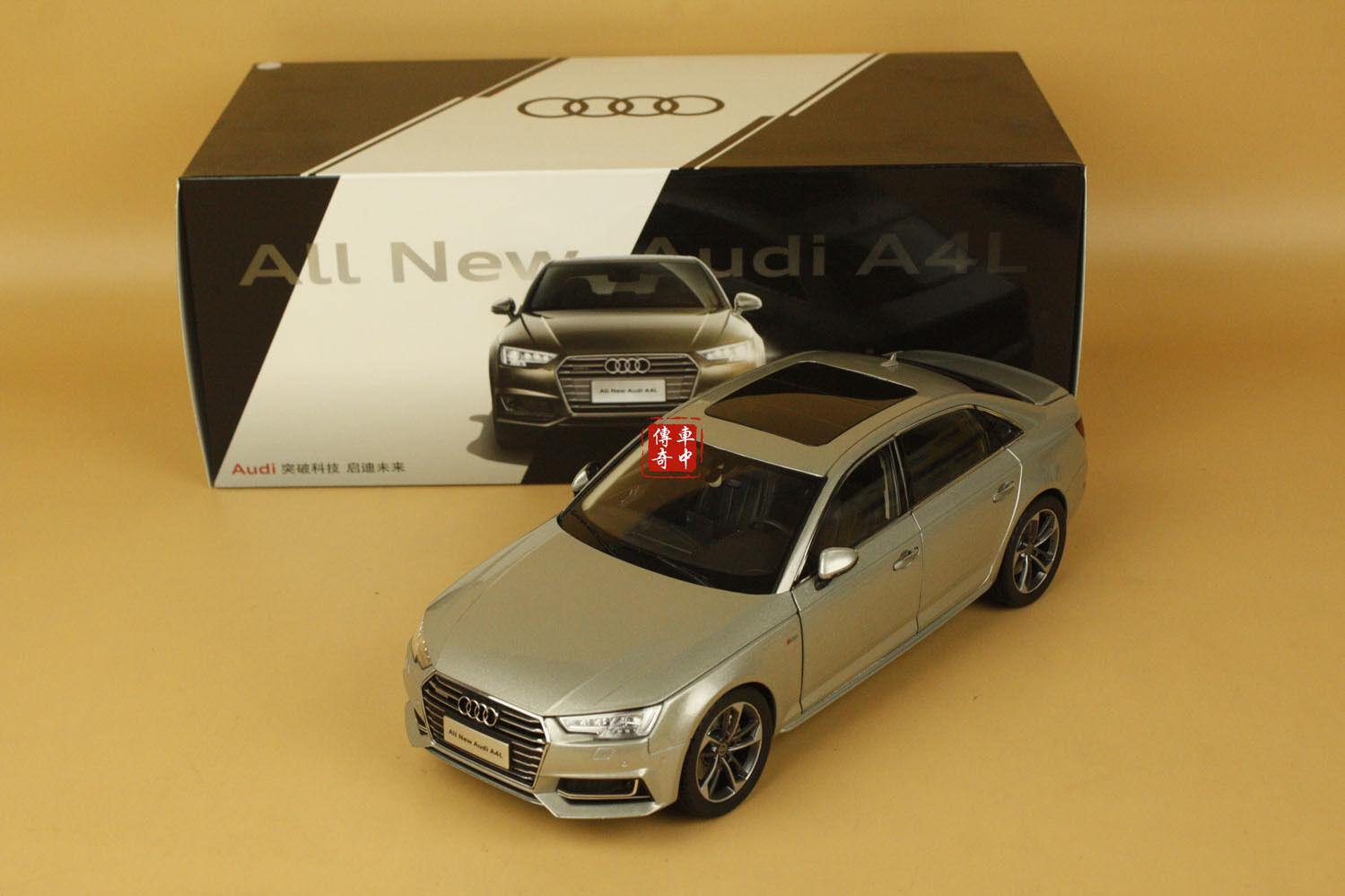 1 18 2017 Audi A4 L A4L Sedan Silber Farbe