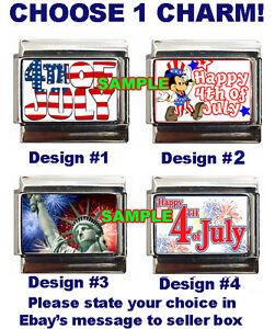 4th-of-July-Custom-Italian-Charm-Disney-Mickey-Mouse-Happy-Fourth