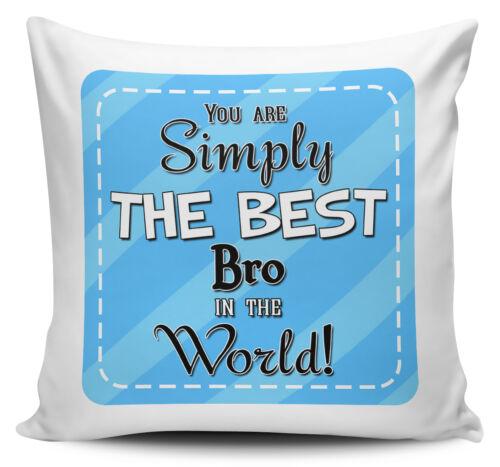 Relations bleus Vous êtes tout simplement le meilleur dans la housse de coussin de monde avec Inner