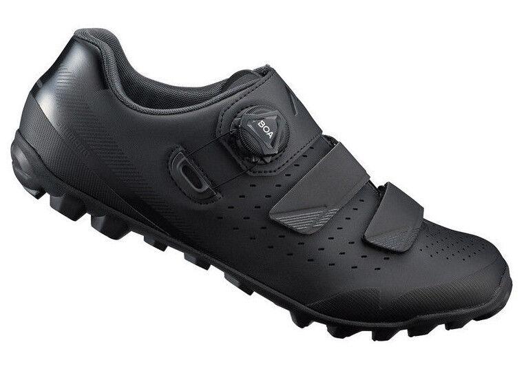 Shimano ME4 Bicicleta de Montaña Boa MTB Ciclismo Zapatos Negros Sh Me400 49 (Us