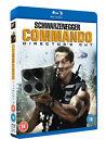 Commando Director's Cut 5039036073196 With Arnold Schwarzenegger Blu-ray
