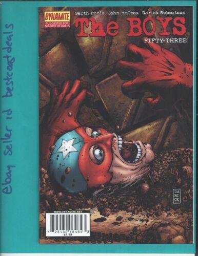 The Boys U PICK comics 1 2 3 4 5 6 7-61 2006 Wildstorm Dynamite Amazon TV series