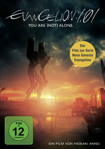 1 von 1 - DVD *  EVANGELION : 1.01 - YOU ARE (NOT) ALONE  # NEU OVP §