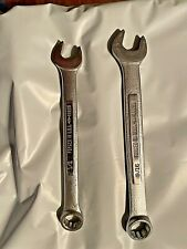 New Listing2 Craftsman Vv Combination Wrench 12 And 916 12 Point Usa