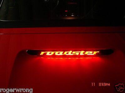 BMW Z3 E37 Roadster 3rd brake light decal overlay 00 01 02