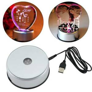 7-LED-Round-Colorful-Rotating-Crystal-Light-Base-Electric-Battery-Display-Stand