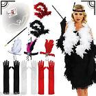 Mujer Años 20 Flapper Charleston Gatsby Disfraz Despedida De Soltera Accesorio