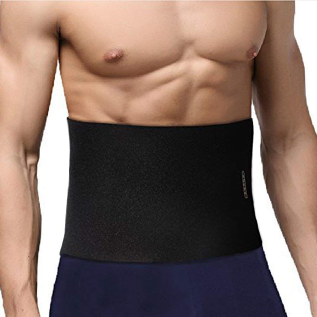 Ab Waist Band Trainer Belt Workout Fitness Men Women Stomach Gym Exercise Body Special Buy Fitness, Running & Yoga