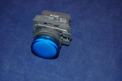 1PC 22MM XB5 BLUE Pilot light with LED FITS XB5 AVB6 24V AC//DC