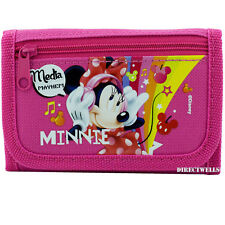 1 Wallet Pink OR HOT Pink Randomly Disney Minnie Mouse Trifold Wallet