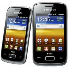 Nuevo Samsung Galaxy Y Duos Negro GT-S6102 Dual Sim Smartphone liberado 3G Oferta
