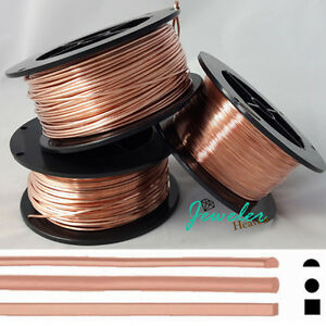 Soft copper wire 18 gauge square wire center pure copper wire dead soft round 1 2 round square 14 16 18 19 20 21 rh ebay com 20 gauge copper wire 16 gauge copper wire greentooth Choice Image