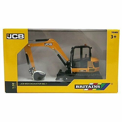 Britains 132 JCB Replica Midi Excavator Collectable Farm Toy