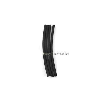 2mm Diameter Black Heat Shrinkable Tube Shrink Tubing 5M