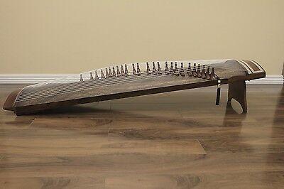 25-String Concert Kayagum, Gayageum, Korean Zither Koto Instrument