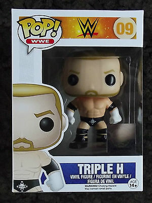 @//(◕‿◕)\\@ Funko Pop! 09 WWE  Triple H