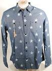 5d74b66120 Denim   Supply Ralph Lauren Slim Star Button Down Work Shirt Blue Sz XL  99  D3E