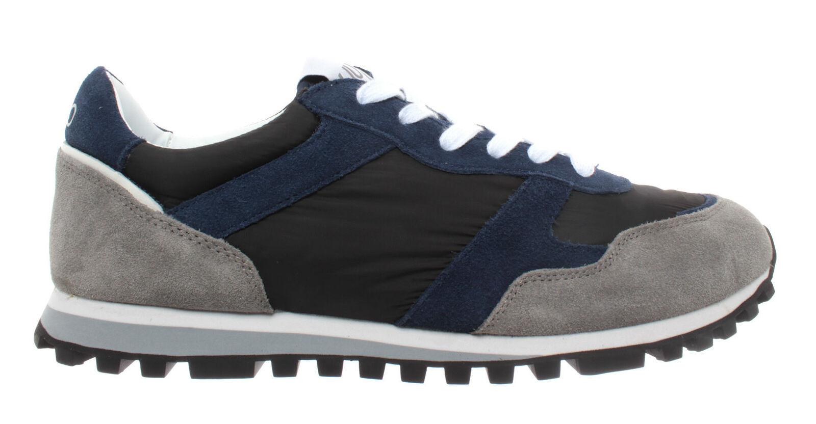 shoes men Sneakers LIU JO Milano Alex Running Plume Marine black blue