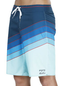 NEW-TAG-BILLABONG-MENS-38-034-NORTHPOINT-X-BOARDSHORTS-SURF-SHORTS-BLUE-PLATINUM-X