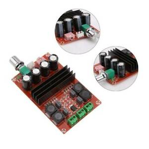 DC-12-24V-2x100W-TPA3116-Dual-Channel-Digital-Audio-Amplifier-Board-Module-h