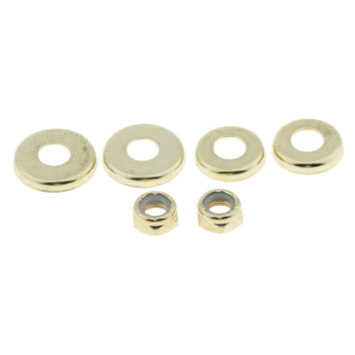 4pcs Replacement Skateboard Truck Bushings Washers Cup Gasket With Nuts Hardware