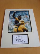 Pele Genuine signed authentic Autograph - UACC / AFTAL.