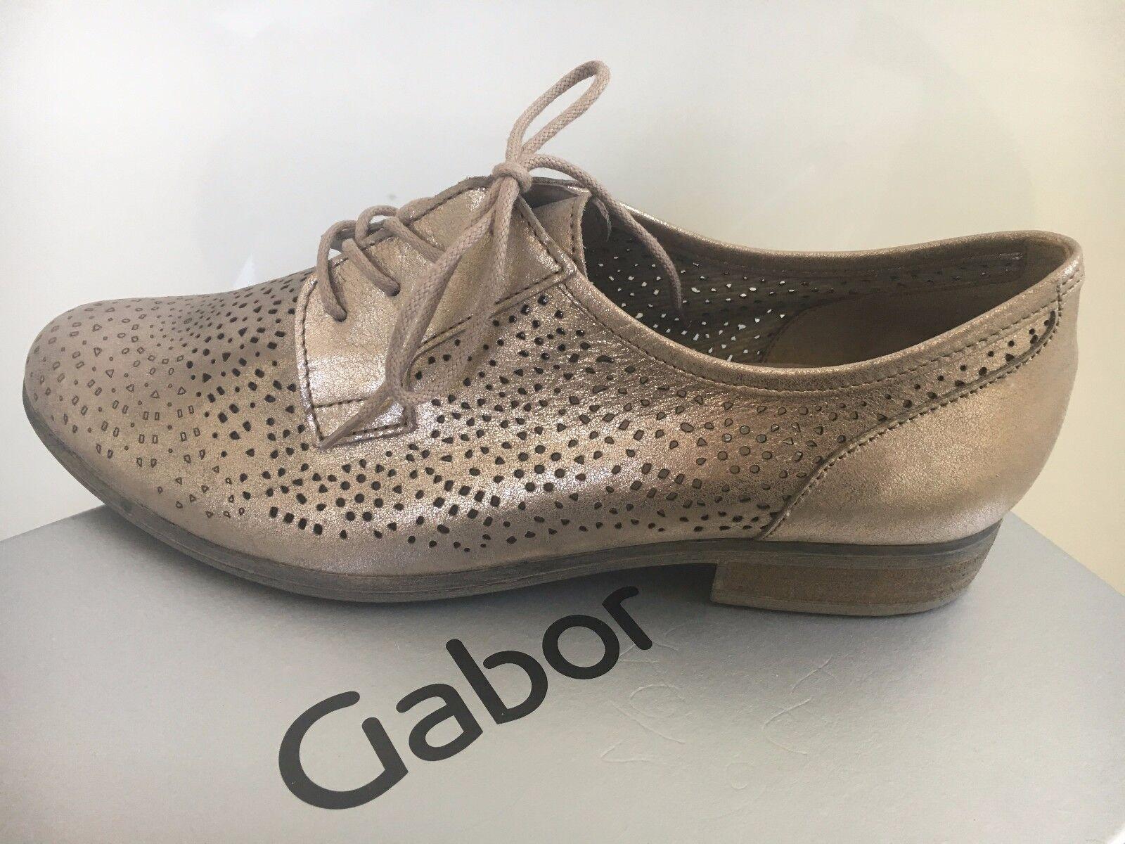 Gabor • Damen Metallic Halbschuhe