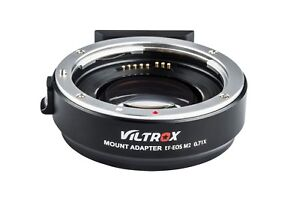 Viltrox-EF-EOS-M2-Lens-Adapter-AF-0-71x-Speed-Booster-for-Canon-EF-Lens-to-EOS-M