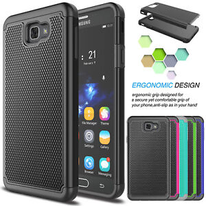 premium selection d1fae 6974f Details about Hybrid Shockproof Armor Hard Case Cover for Samsung Galaxy J7  Prime / On7 2016