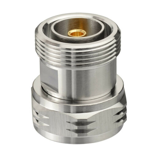 L29 7//16 Din 7//16 Male Plug to Female Jack straight RF Adapter connector